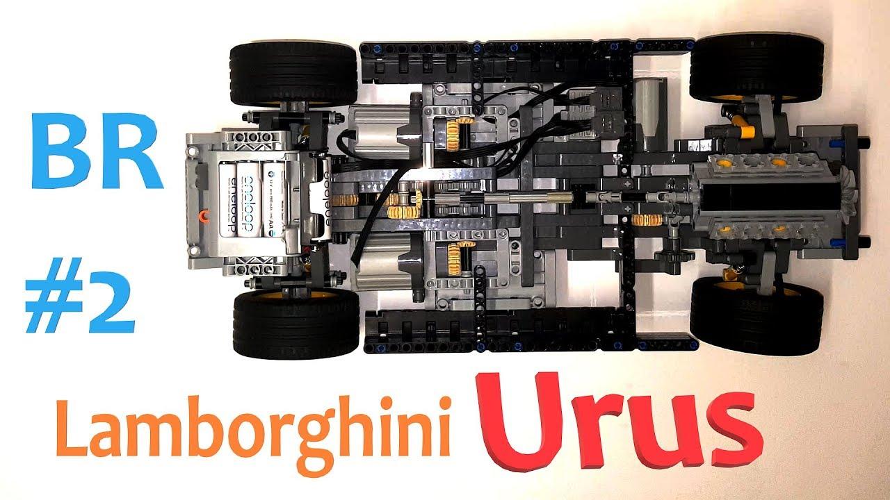 Lego Technic Lamborghini Urus Build Report 2 Youtube