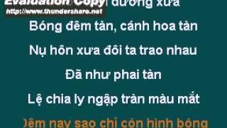 Karaoke beat Tình đã nhạt mờ (Vết thương lòng)-Nguyễn Thắng