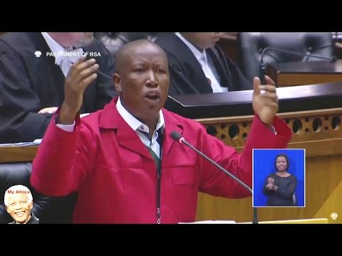 Julius Malema vs Dudu Myeni 'ZUMA' In Parliament