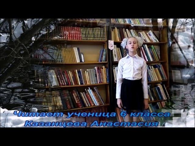Изображение предпросмотра прочтения – АнастасияКазанцева читает произведение «Бушует полая вода» И.А.Бунина