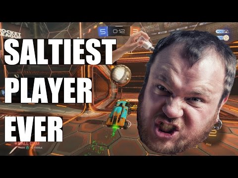 The Angriest Rocket League Player Ever
