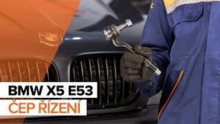 Jak vyměnit Hlava příčného táhla řízení на BMW X5 (E53) - online zdarma video