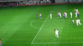 2009年J2第38節 ベガルタ仙台VS岡山戦「エリゼウ先制点」