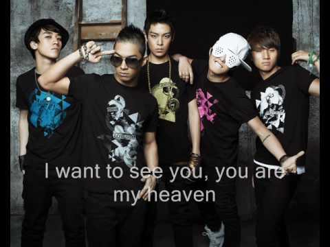 Big Bang - My Heaven English Subbed