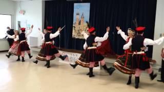 """""""JAGODA"""" Polish Folk Dance Ensamble in """"Krakowiak"""""""
