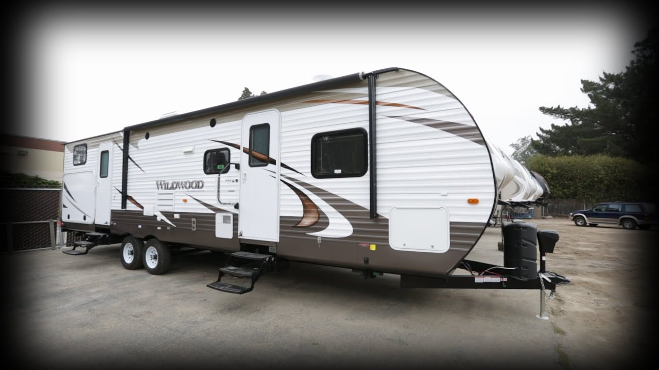 2015 Forest River RV Wildwood 32BHDS Travel Trailer Stock ...
