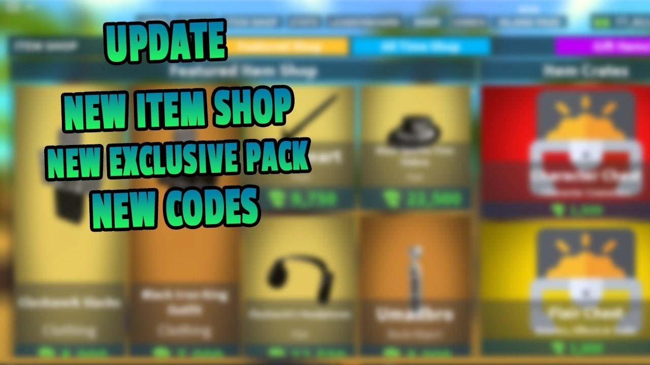 nuevos codigos  island royale   update roblox