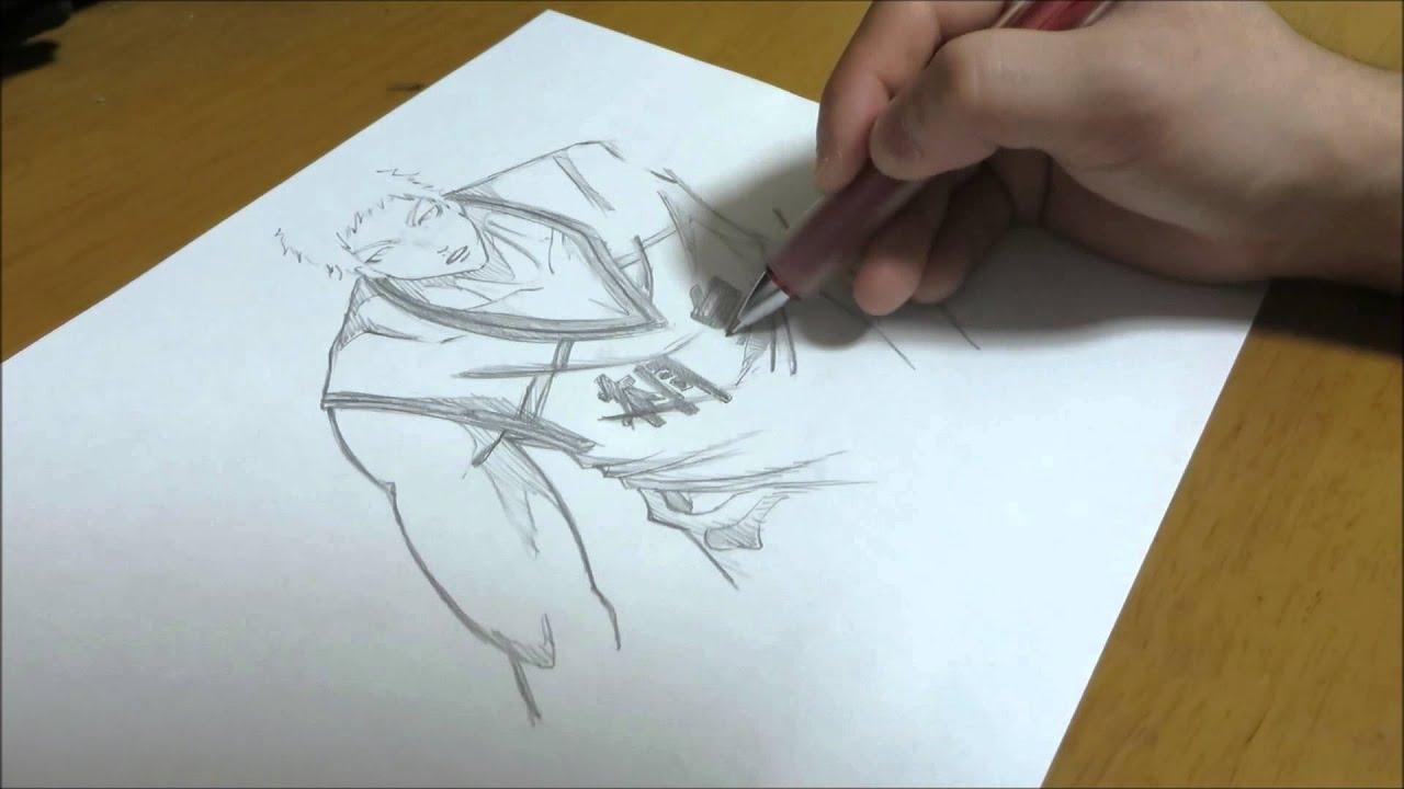 イラスト制作no13黒子のバスケの青峰大輝を描いてみた Youtube
