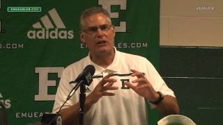 EMU Football Postgame Press Conference - Old Dominion (Sept 5, 2015)