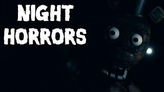 Игра : Night Horrors FNAF five nights at freddy's ФНАФ Бесплатный Кеис Аниматроникс?