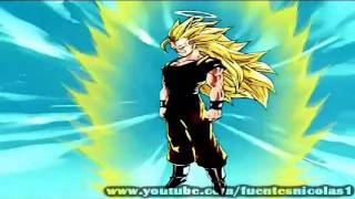 Las Transformaciones de Goku en Super Saiyan (era - ameno)