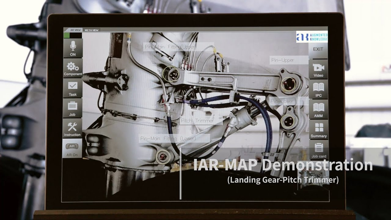 IAR-MAP (Intelligent Augmented Reality Maintenance Platform)