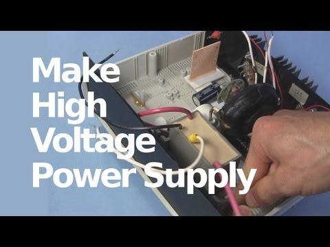 How to Make 30kV High Voltage DC Power Supply with Flyback & Cockcroft-Walton Multiplier Tripler