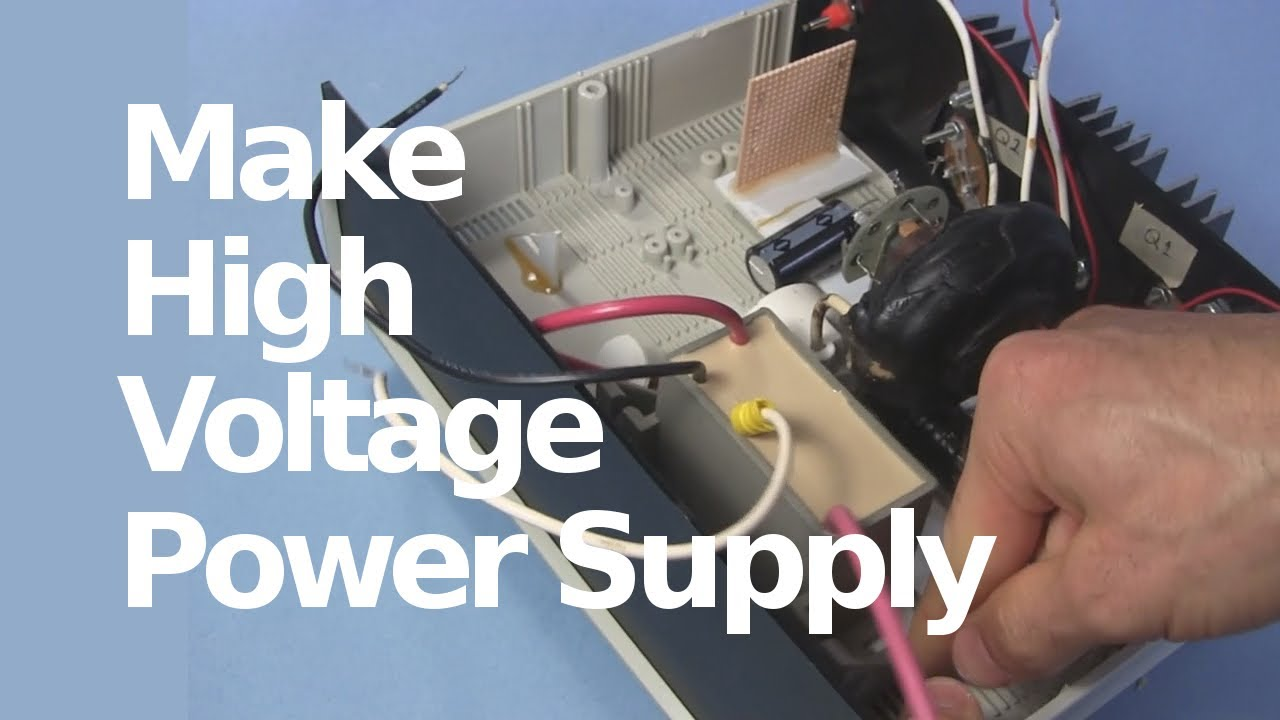 How To Make 30kv High Voltage Dc Power Supply With Flyback Mosfet Could Be Used Just As Easily Cockcroft Walton Multiplier Tripler Youtube