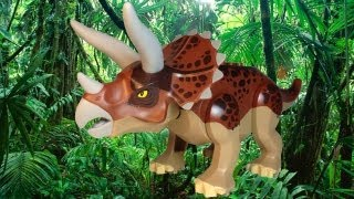 LEGO 5885 Triceratops Trapper LEGO Dino Review