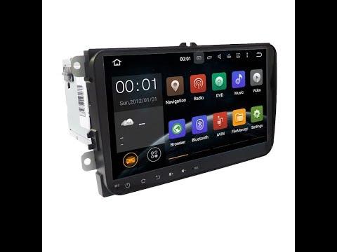 Обзор штатной магнитолы Android 2 Din Volkswagen Passat B6/B7/CC/Caddy/Touran/Tiguan/Polo