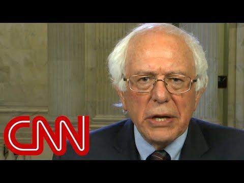 See Bernie Sanders React to Trump's New Executive Order!