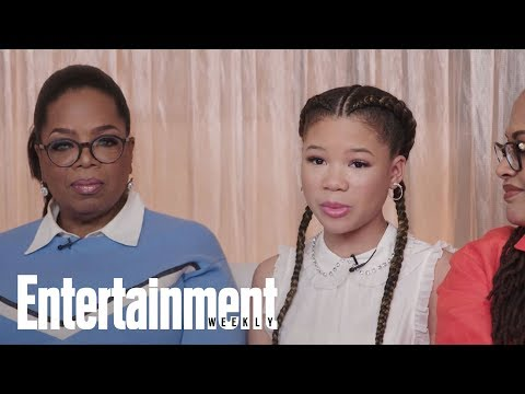 Storm Reid On Her 'A Wrinkle In Time' Character & Working With A Female Cast | Entertainment Weekly