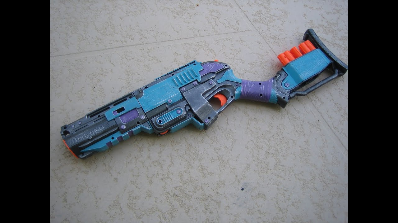 Nerf Rough Cut Paint Job