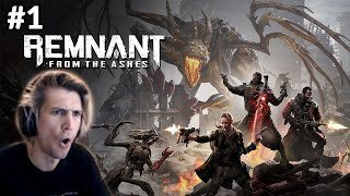 Xqc Plays Remnant From The Ashes With Moxy - Part 1