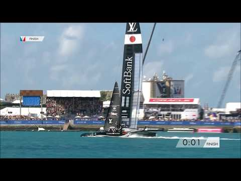First Day Of Racing At The 35th America's Cup, May 27 2017