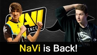 NaVi is back vs Secret — Dendi Invoker vs w33 Windranger Dota 2