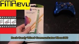 Rock Candy Wired Communicator Gaming Headset for Xbox and Playstation