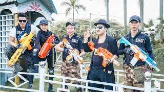 LTT-Nerf-War-Couple-SEAL-X-Warriors-Nerf-Guns-Fight-Criminal-Group-Dr-Mundo-Gold-Bandits