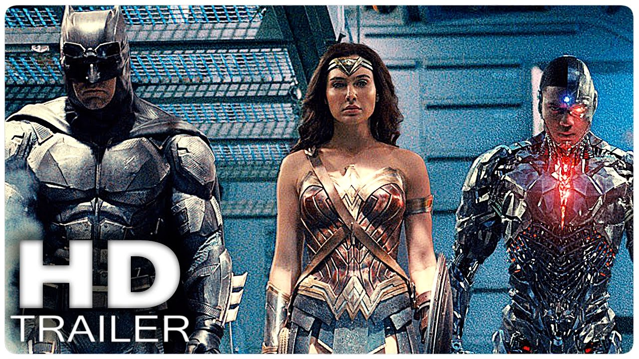 JUSTICE LEAGUE Extended Trailer (2017) - YouTube