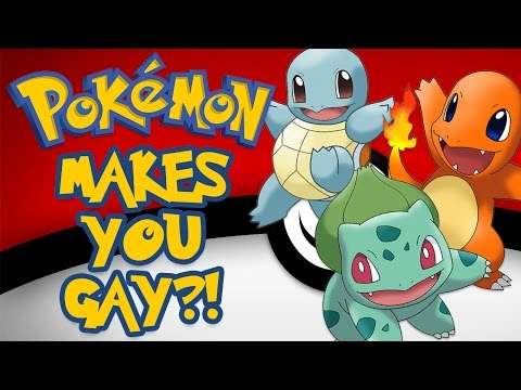 Pokemon Turn Kids Gay!