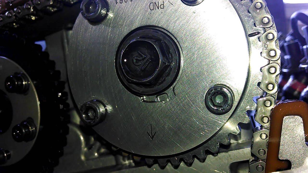 2008 honda accord vtc actuator replacement