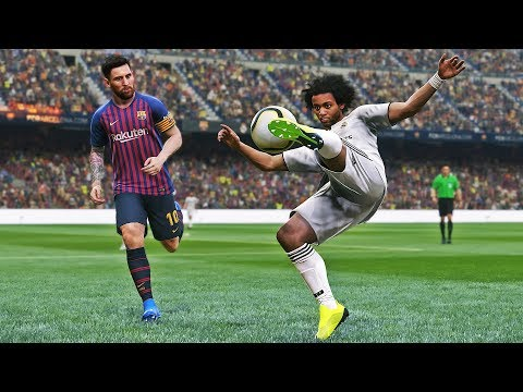 PES 2019 - Barcelona vs Real Madrid | El Clasico | Gameplay HD PS4 PRO