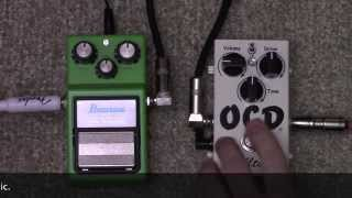 Fulltone OCD Vs Ibanez Tube Screamer Overdrive Pedal Shootout