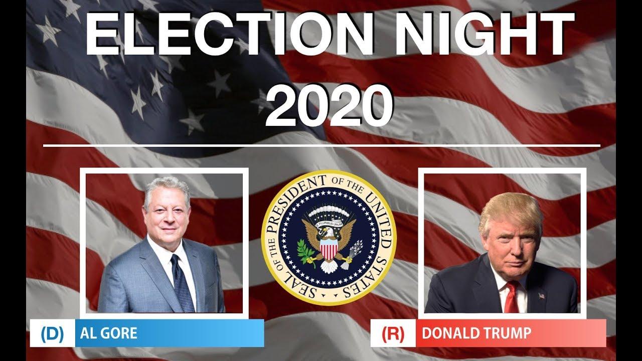 election night al gore  donald trump youtube