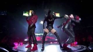 Black Eyed Peas / fergie hot - pump it (LIVE HD) - STAPLES CENTER - LOS ANGELES