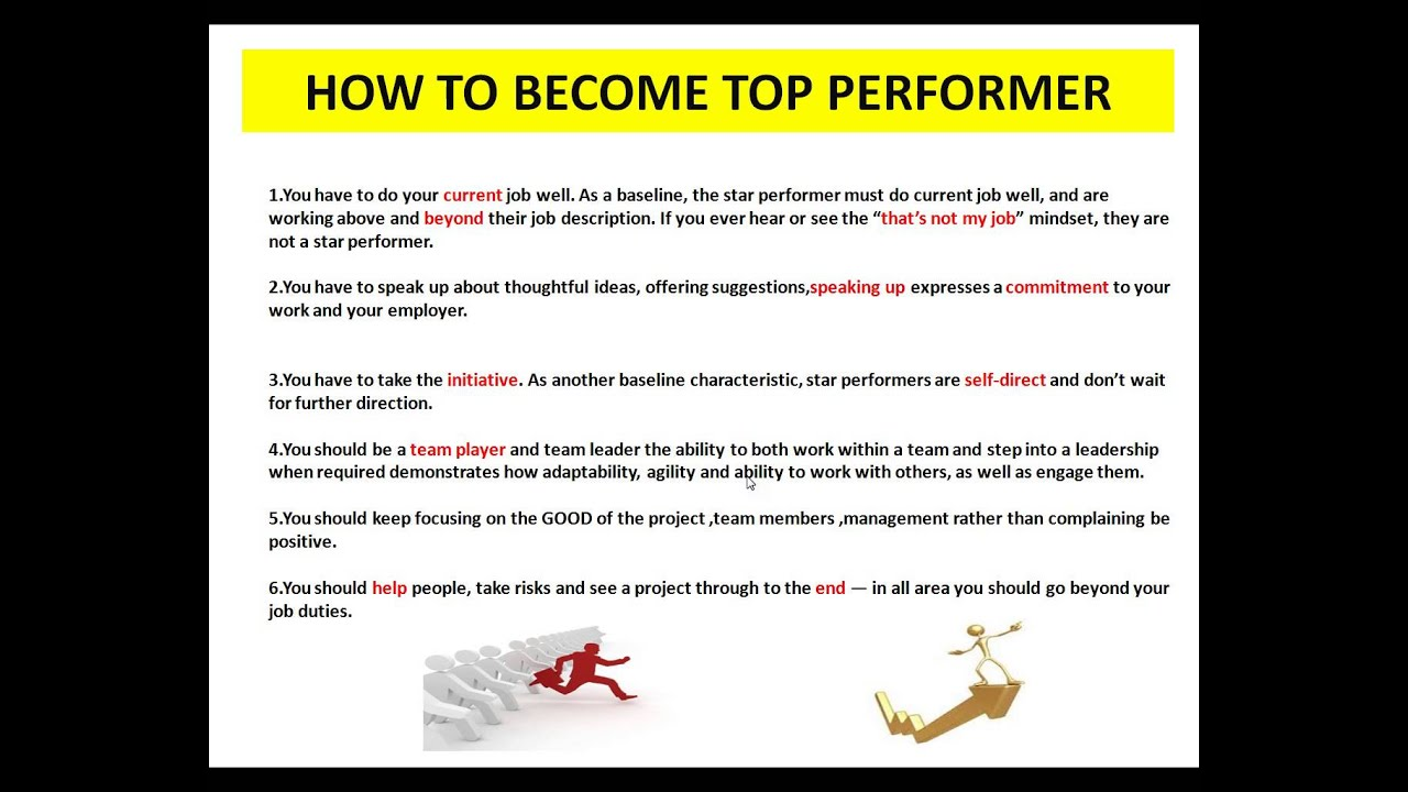 how to become top performer tamil how to become top performer tamil