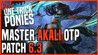 Patch 6.3 Akali Top OTP - Matchup: Lissandra - Ranked Master KR
