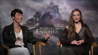 "Chat With the Stars:  Jihae and Hera Hilmar, ""Mortal Engines"""