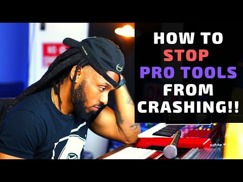How to Stop CPU Problems while Using Pro Tools | Pro Tools Crashing Fix