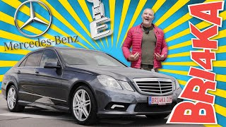 Mercedes E - Class W212 | Test and Review| Bri4ka.com