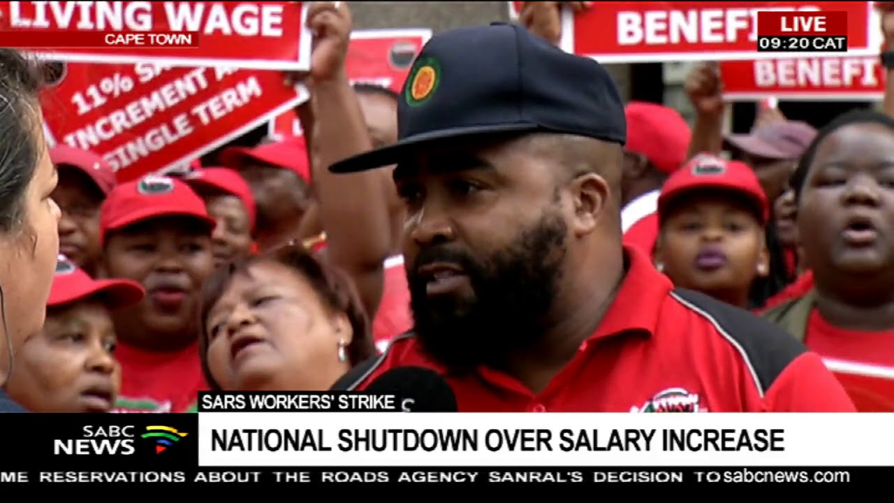 SARS workers' strike | National shutdown over salary increase