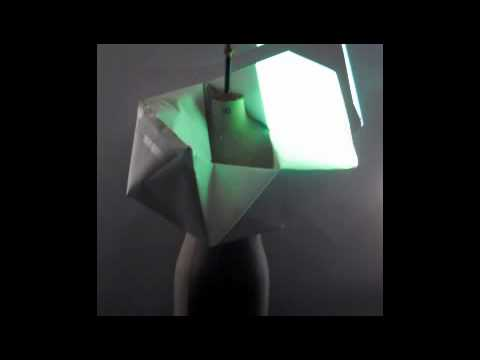 Light projections onto form - augmented clothing