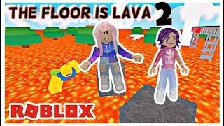 Roblox: Der Boden ist Lava 2 / Lava überleben!