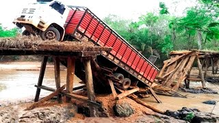 Crazy Overload Truck & Extremely Dangerous Roads in China ! Amazing Truck Driving Skills