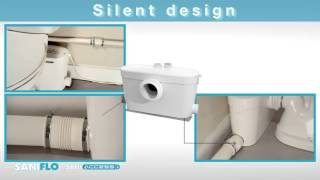 видео Насос-измельчитель SANICOMPACT C43 ECO