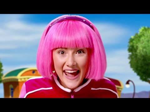 Lazy Town Stephanie Sings and Plays New Games Everyday | Lazy Town Songs