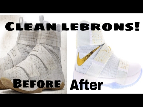 newest 28e3f 59efe how to clean Lebron james solider 10 straps @Q_iLL #LebronJames #nike #NBA  #Sneakerhead