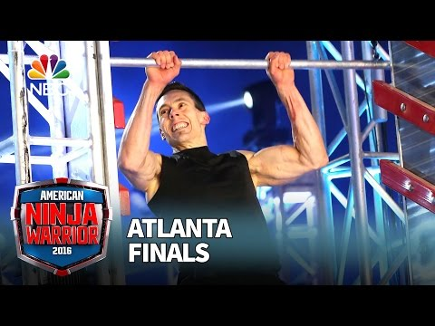 Travis Rosen at the Atlanta Finals - American Ninja Warrior 2016