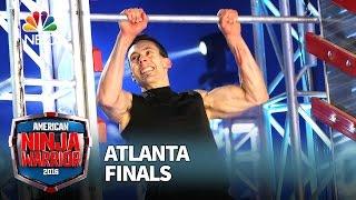 Travis Rosen at the Atlanta Finals - American Ninja Warrior 2016