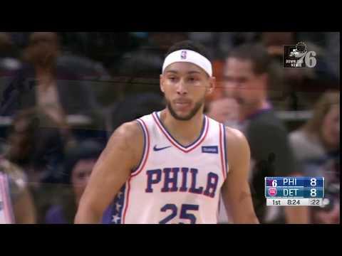 Ben Simmons | Highlights vs Detroit Pistons (12.7.18)